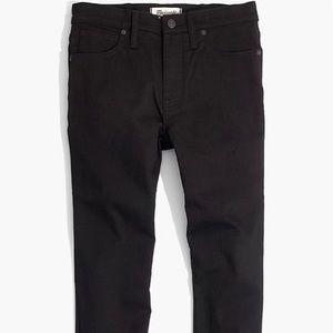 Madewell Skinny Black Jeans, 28